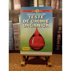 Georgiana Barbulescu - Teste de chimie organica