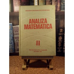 Analiza matematica vol. II
