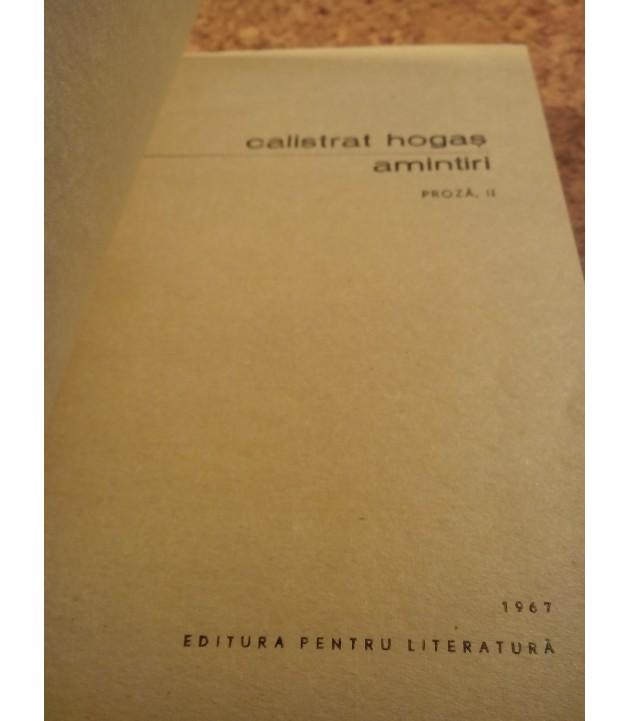 C. Hogas - Amintiri