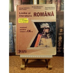 Nicolae Manolescu - Limba si literatura romana manual pentru clasa a IX a