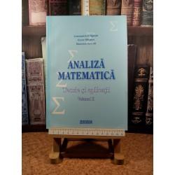 Constantin Dragusin - Analiza matematica Teorie si aplicatii Vol. II