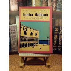 George Lazarescu - Limba italiana manual experimental pentru clasa a IV a