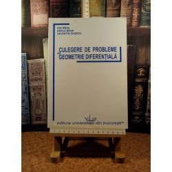 Ion Mihai - Culegere de probleme de geometrie diferentiala