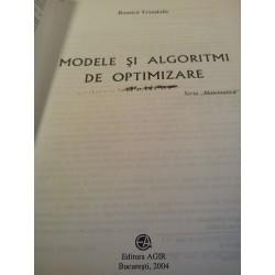 Romica Trandafir - Modele si algoritmi de optimizare