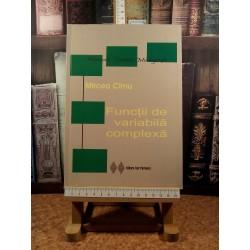 Mircea Cirnu - Functii de variabila complexa