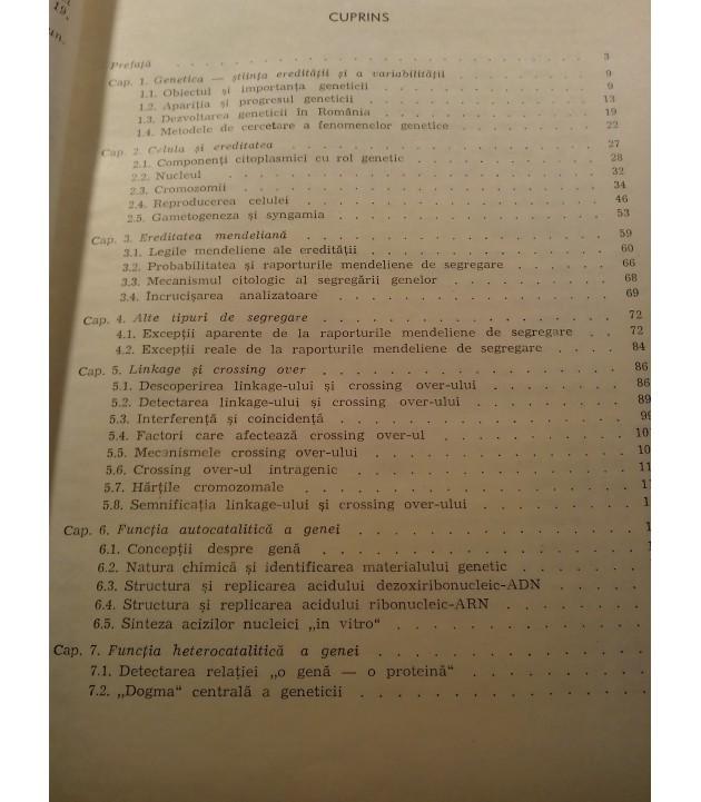 T. Craciun - Genetica