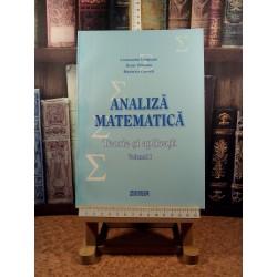 Constantin Dragusin - Analiza matematica Vol. I Teorie si aplicatii