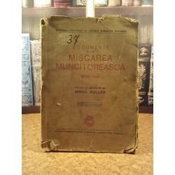 Mihail Roller - Documente din miscarea muncitoreasca 1872 - 1916