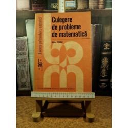 Mihai Cocuz - Culegere de probleme de matematica