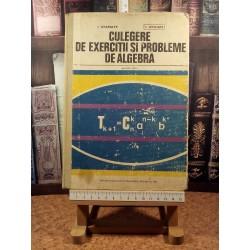 I. Stamate - Culegere de exercitii si probleme de algebra