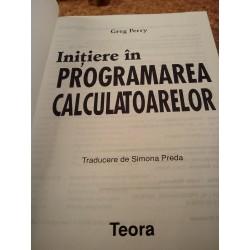 Greg Perry - Initiere in programarea calculatoarelor