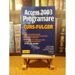 Cary N. Prague - Access 2003 Programare Curs-Fulger