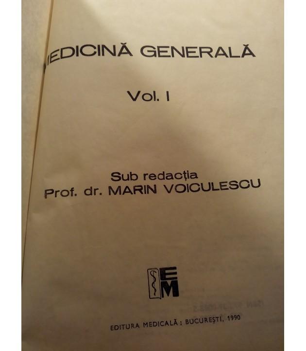 Marin Voiculescu -Medicina generala vol. I