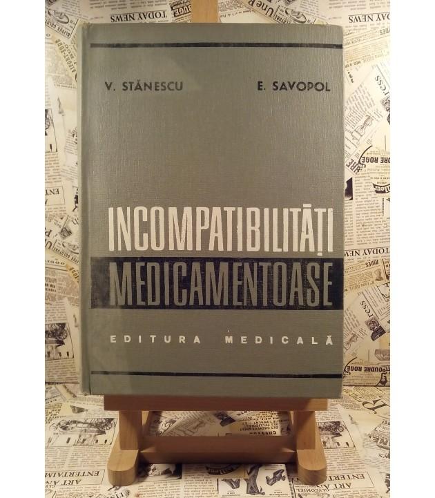 V. Stanescu - Incompatibilitati medicamentoase