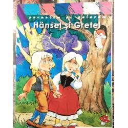Povestim si coloram - Hansel si Gretel