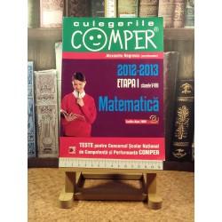 Culegerile Comper 2012-2013 Etapa I clasele V-VIII Matematica