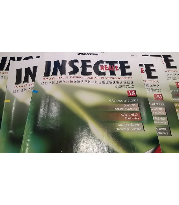 "Reviste ""Insecte reale"" (fara esantion)"