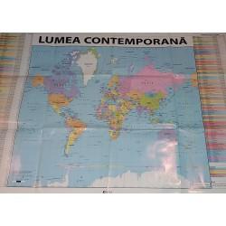 "Harta ""Lumea contemporana"""