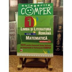 Elena Apastinii - Culegerile Comper Limba si literatura romana Matematica clasa 1