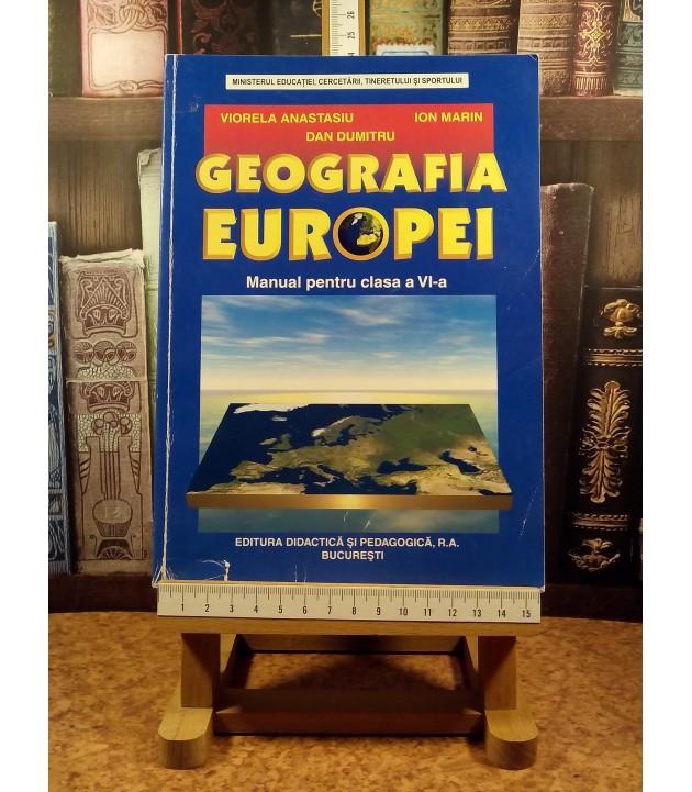 Viorela Anastasiu - Geografia europei manual pentru clasa a VI a