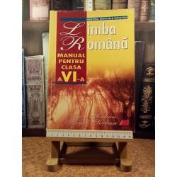Anca Serban - Limba romana manual pentru clasa a VI a
