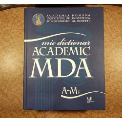 Mic dictionar academic MDA A-Me Vol. I