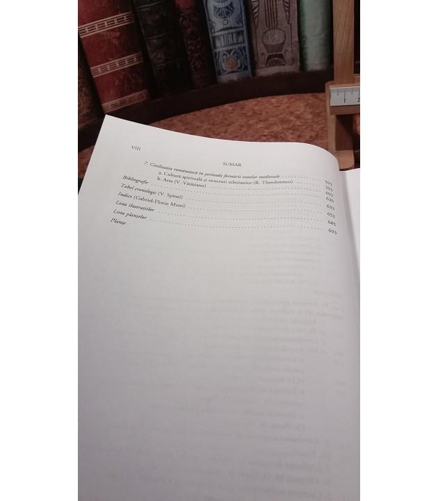 Academia romana - Istoria romanilor vol. III