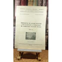 Mihai Measnicov - Indrumator de lucrari practice si de elaborare a proiectelor de combaterea eroziunii solului Partea I-a