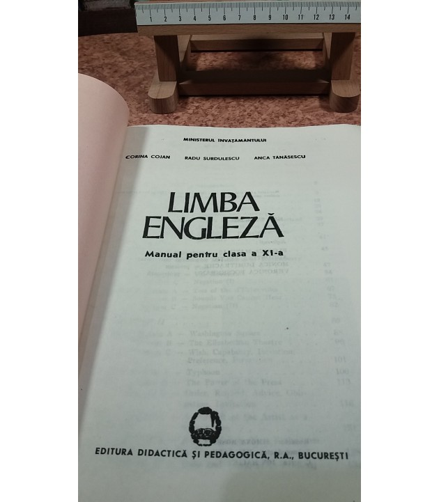 Corina Cojan - Limba engleza manual pentru clasa a XI a
