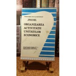 Aurelia Deaconescu - Organizarea activitatii unitatilor economice