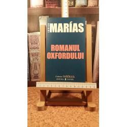 Javier Marias - Romanul Oxfordului