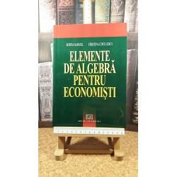 Judita Samuel - Elemente de algebra pentru economisti