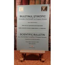 Buletin stiintific Seria Hidrotehnica Tomul 53(67), Fascicola 2
