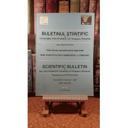 Buletin stiintific Seria Hidrotehnica Tomul 53(67), Fascicola 1