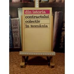 Ilie Ceausescu - Din istoria contractului colectiv in romania