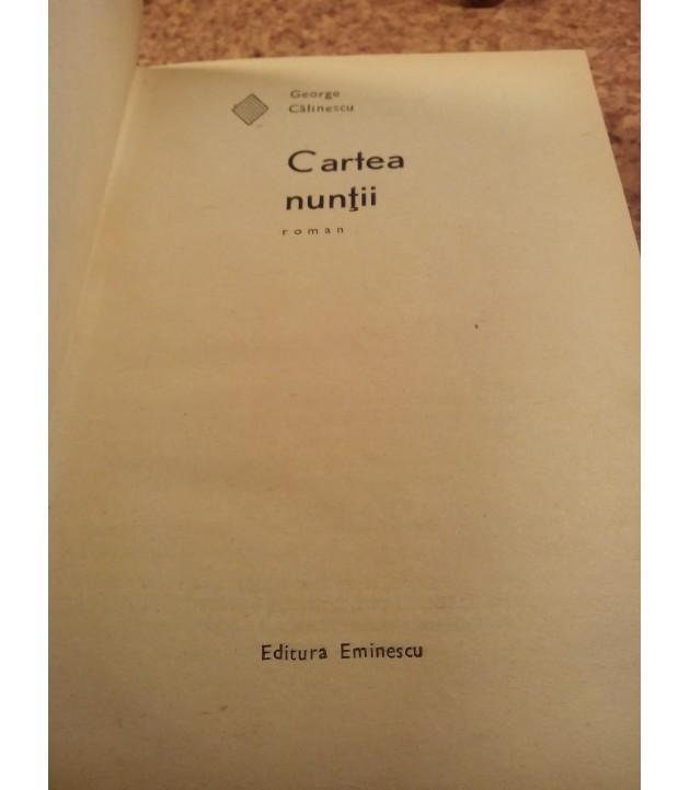 George Calinescu  – Cartea nuntii