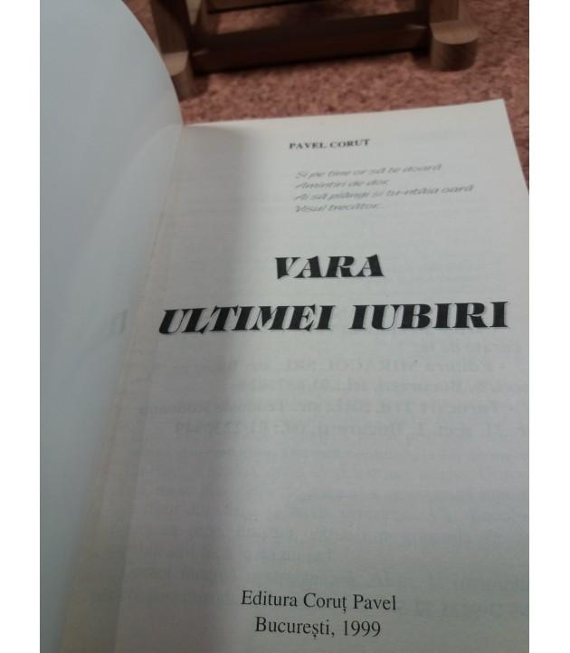 Pavel Corut - Vara ultimei iubiri