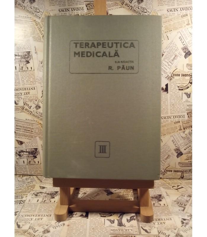 R. Paun - Terapeutica medicala vol. III