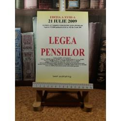 Legea pensiilor editia a XVIII a 21 iulie 2010