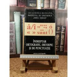 Indreptar ortografic, ortoepic si de punctuatie