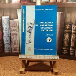L. Serbulescu - Facultatea de marketing si comert exterior Sinteze Anul IV