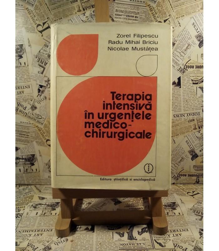 Zorel Filipescu - Terapia intensiva in urgentele medico-chirurgicale