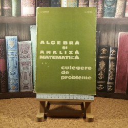 D. Flondor - Algebra si analiza matematica Vol. II Culegere de probleme