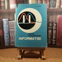 Al. Spataru - Teoria transmisiunii informatiei