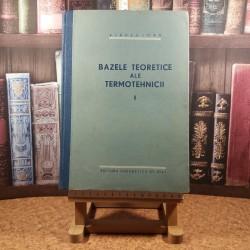 Vladea Ioan - Bazele teoretice ale termotehnicii Vol I
