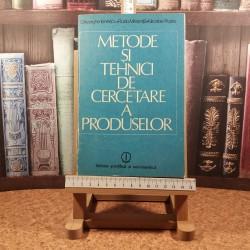 Gheorghe Ionescu - Metode si tehnici de cercetare a produselor