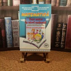 Petre Simion - Matematica teze unice la nivel national pentru elevii clasei a VII a 100 de variante propuse