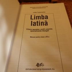 Lidia Tudorache - Limba latina manual pentru clasa a XI-a filiera teoretica, profil umanist, specializare filologie