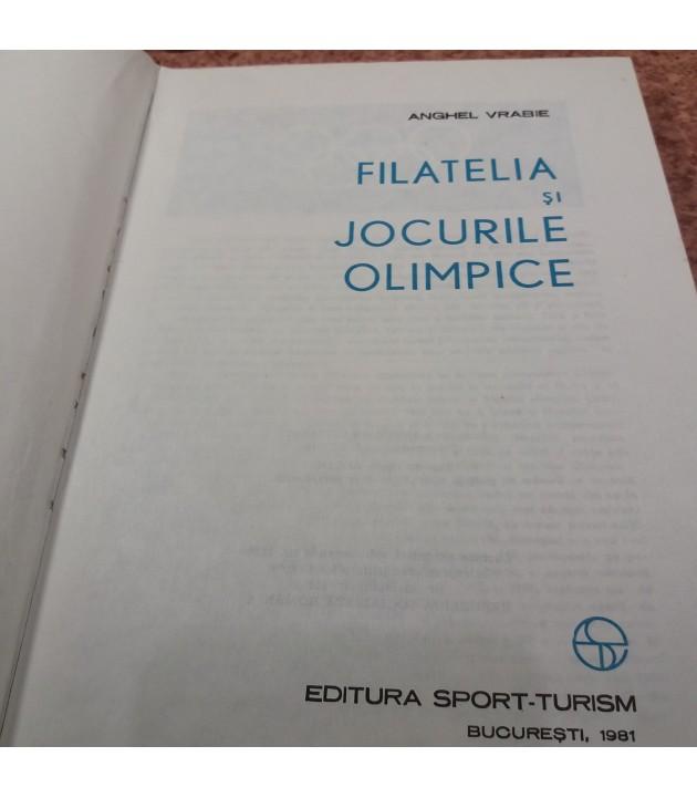 Anghel Vrabie - Filatelia si jocurile olimpice