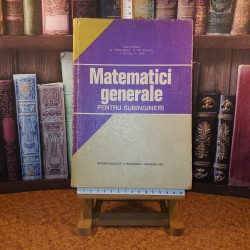 Ioan Filimon - Matematici generale pentru subingineri